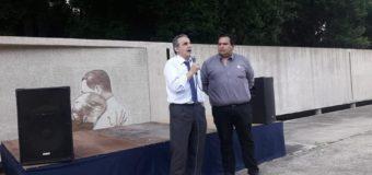 1er Acto Oficial del CEJUS en la Quinta de Peron Junto a Guillermo Moreno