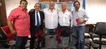 David Arrighi participo del segundo programa de televisión La Economía por Moreno por canal 22