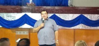 David Arrighi presenta el CEJUS en la localidad de Moreno