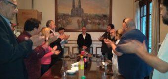 CEJUS Celebro el cumpleaños de Guillermo Moreno